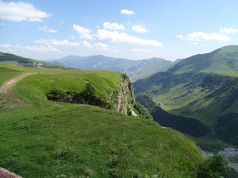 Weinland Georgien, Berglandschaft in Georgien