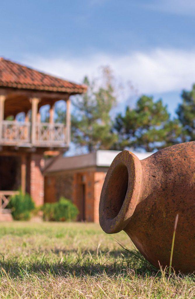 Geschichte des georgischen Weinbaus - Die ältesten Amphoren - Kwewri