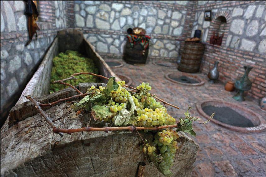Saznacheli - Weinkelter - Vom 19. Jahrhundert bis zum heutigen Tage