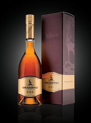 Georgischer Cognac von Sarajishvili