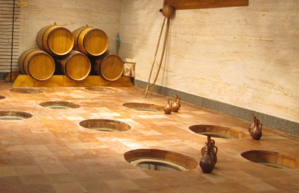 Georgischer Weinbau - Weinkeller Marani - Zinandali und Mukusani