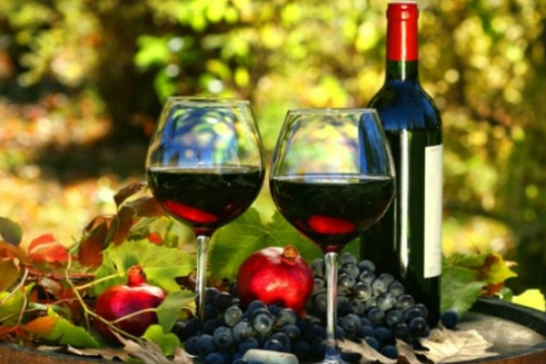 Geschichte des georgischen Weins, Rotwein